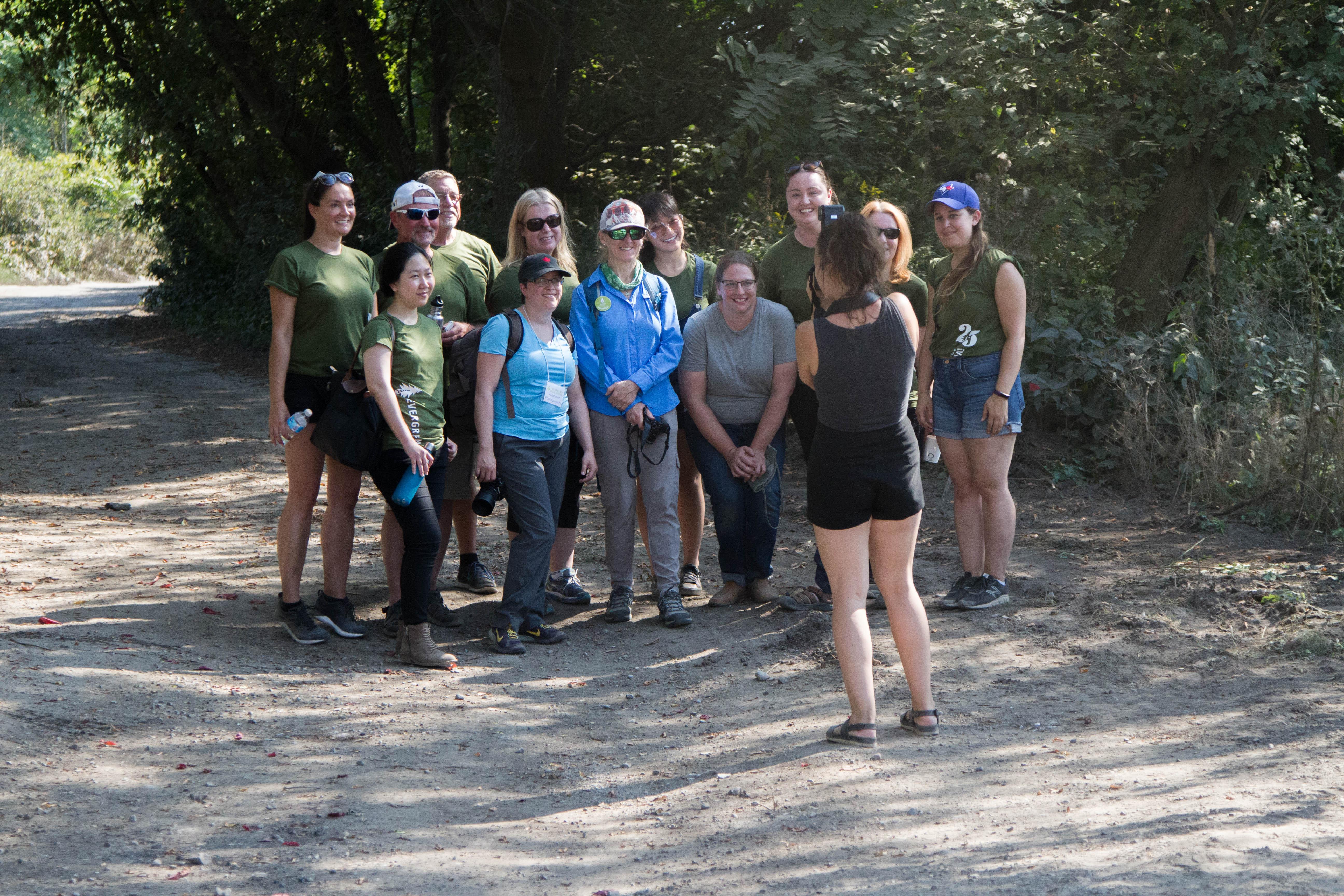 Group shot of DRVP's Park Advocates.