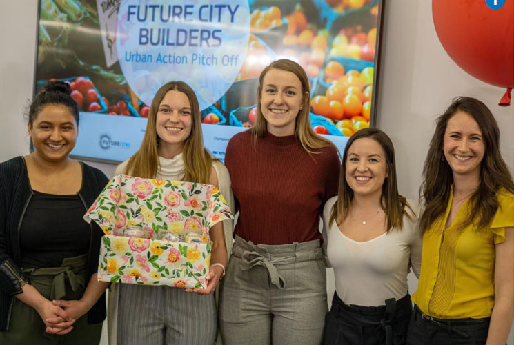 Winners of Calgary's Urban Action Pitch-Off: Feed Your Flat