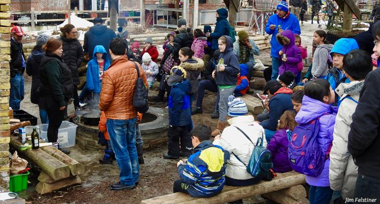 Storytelling at the Children's Garden