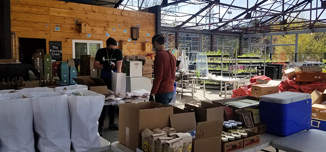 packing the farm in a box at evergreen brick works