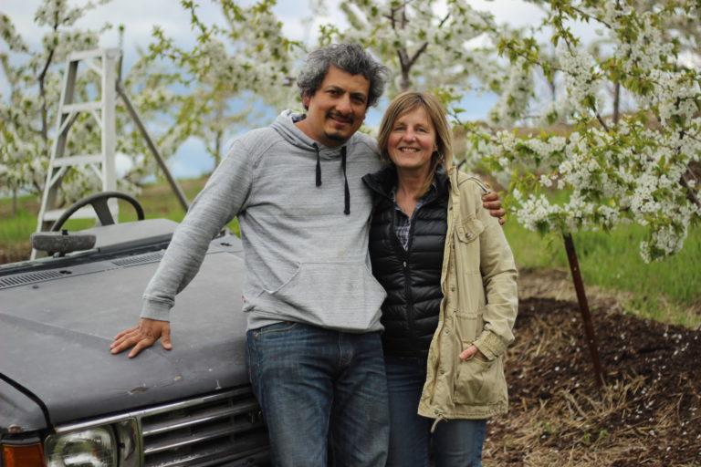 Reyes farm apple tree Ignacio