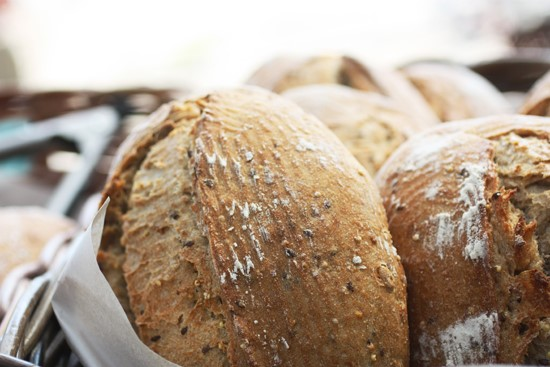 Close up shot of Humble Bread. Credit: Katie Babcock.