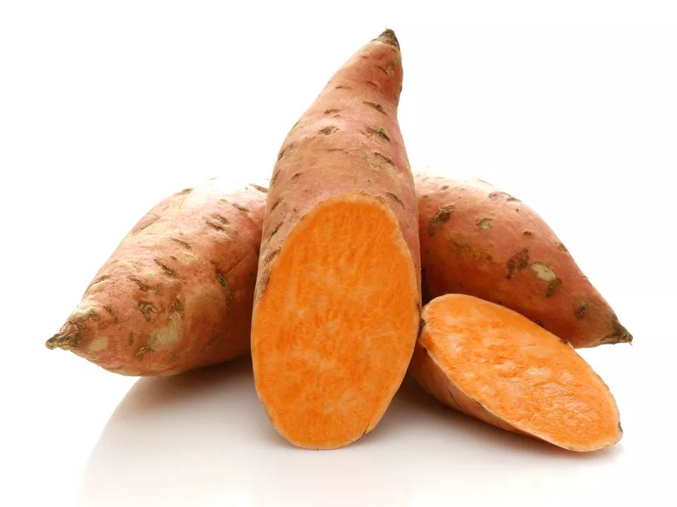 sweet potatoes - raw