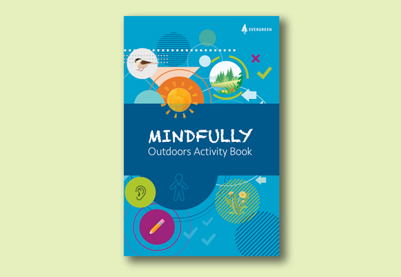 Mindfully Outdoors Activity Book cover