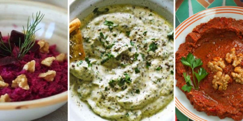 Dips from Newcomer Kitchen