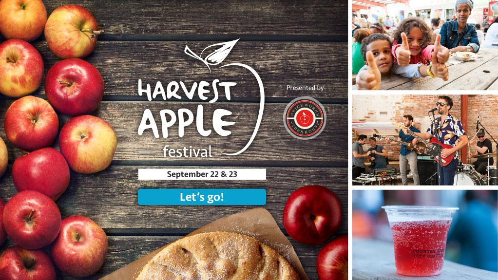 Apple Harvest Festival promo banner