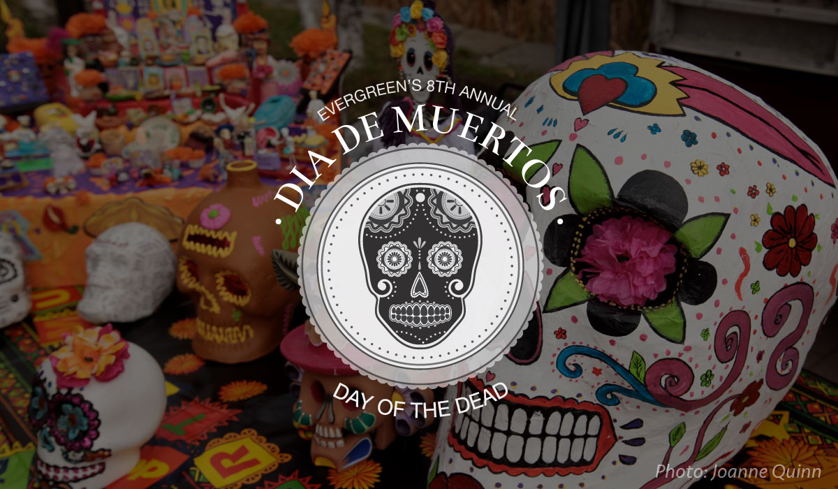 Day of the Dead wordmark and banner.