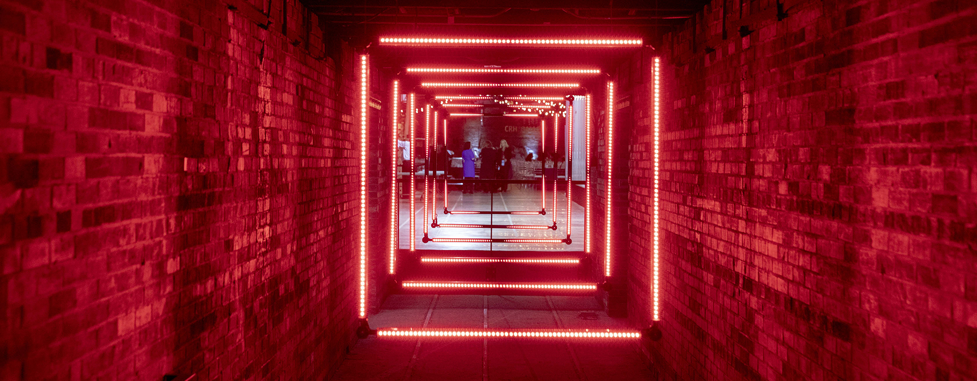 Red lights in the City Builders Gallery