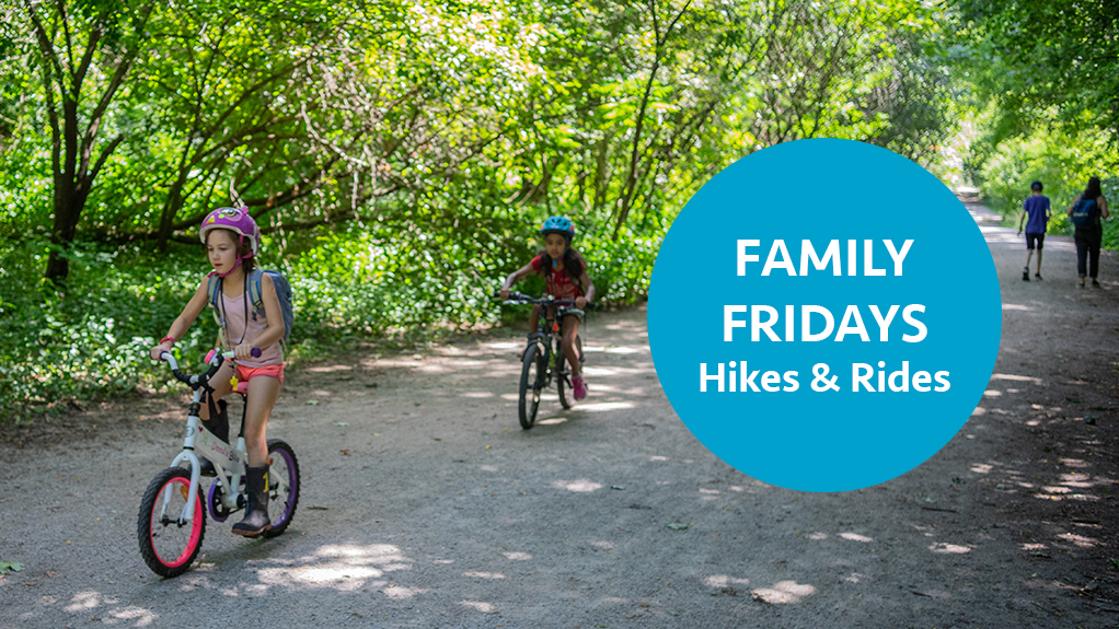 Family Fridays Evergreen Hikes and Bike Rides