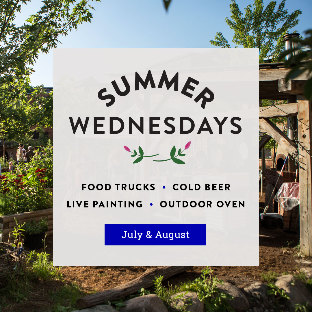 Summer Wednesdays | Food Trucks, Wood-fired oven, Live painting, Cold beer | July & August