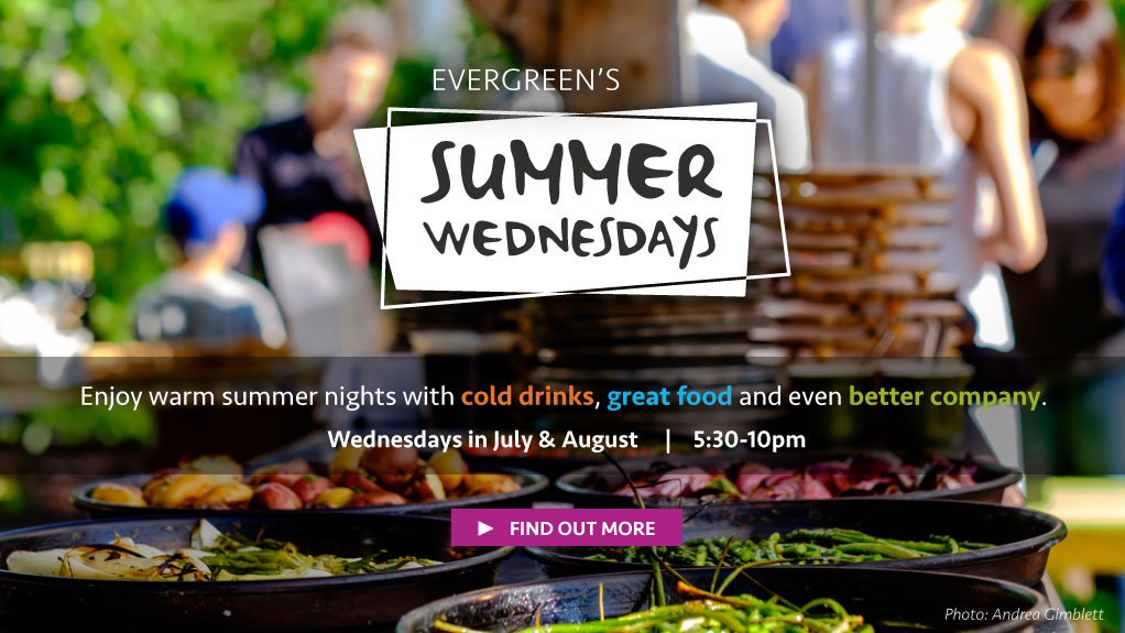 Enjoy warm summer nights with cold drinks, great food and even better company at Summer Wednesdays. Learn more.