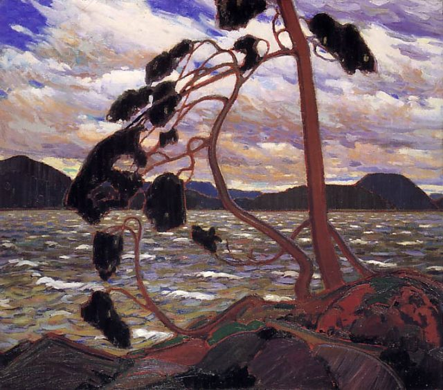 West Wind painting by artis tTom Thomson