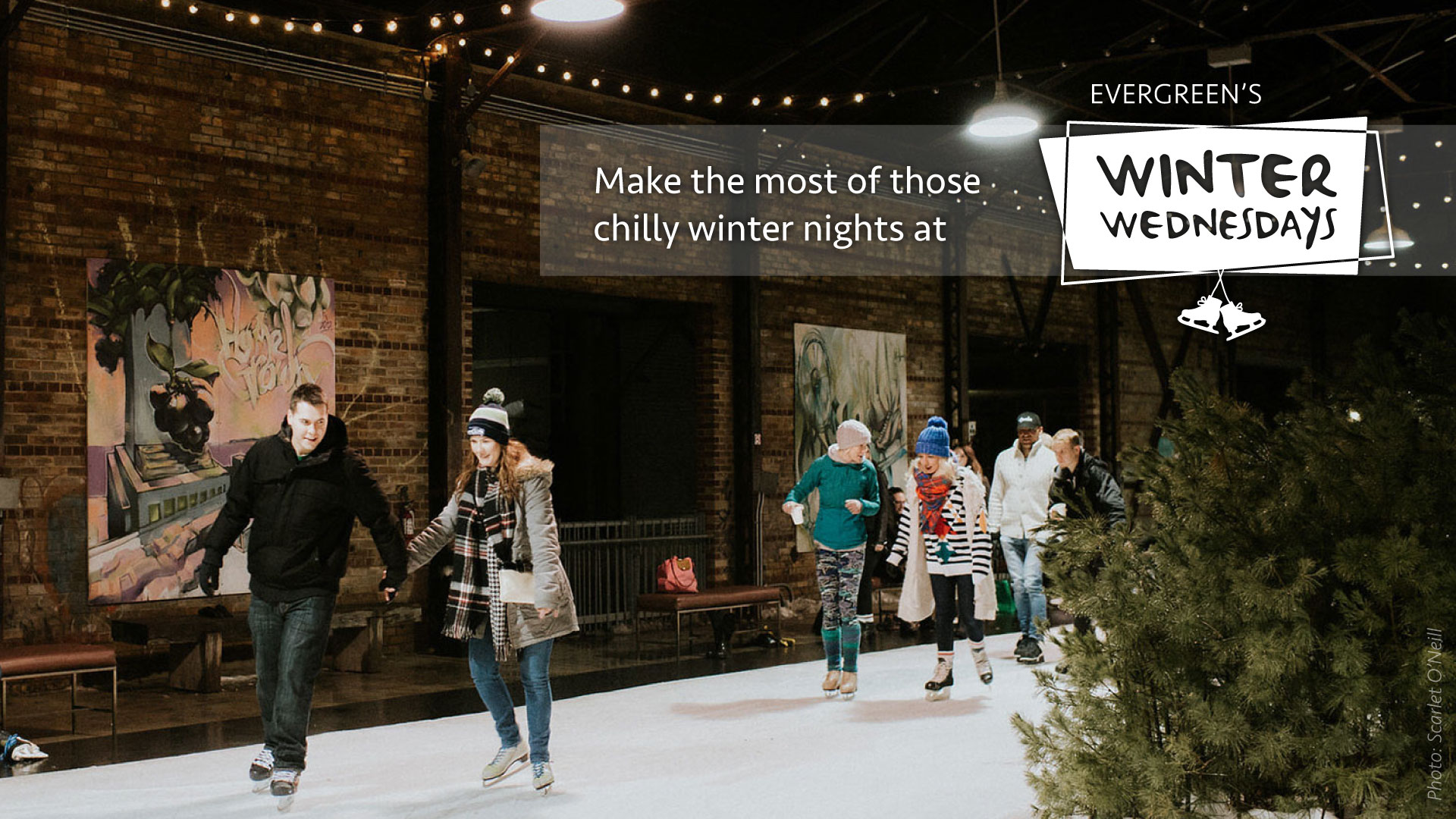 Make the most of those chilly winter nights at Evergreenès Winter Wednesdays!