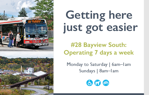 28 Bayview South operating 7 days a week, starting June 19