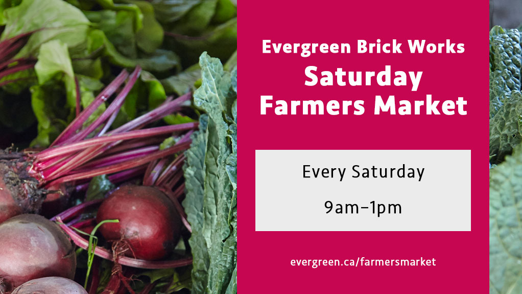 Saturday Farmers Market, 2018 | 9am-1pm