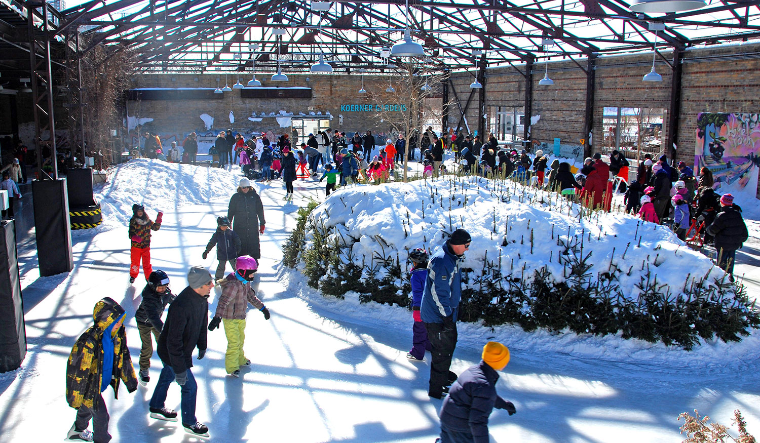 Image result for evergreen brickworks winter village