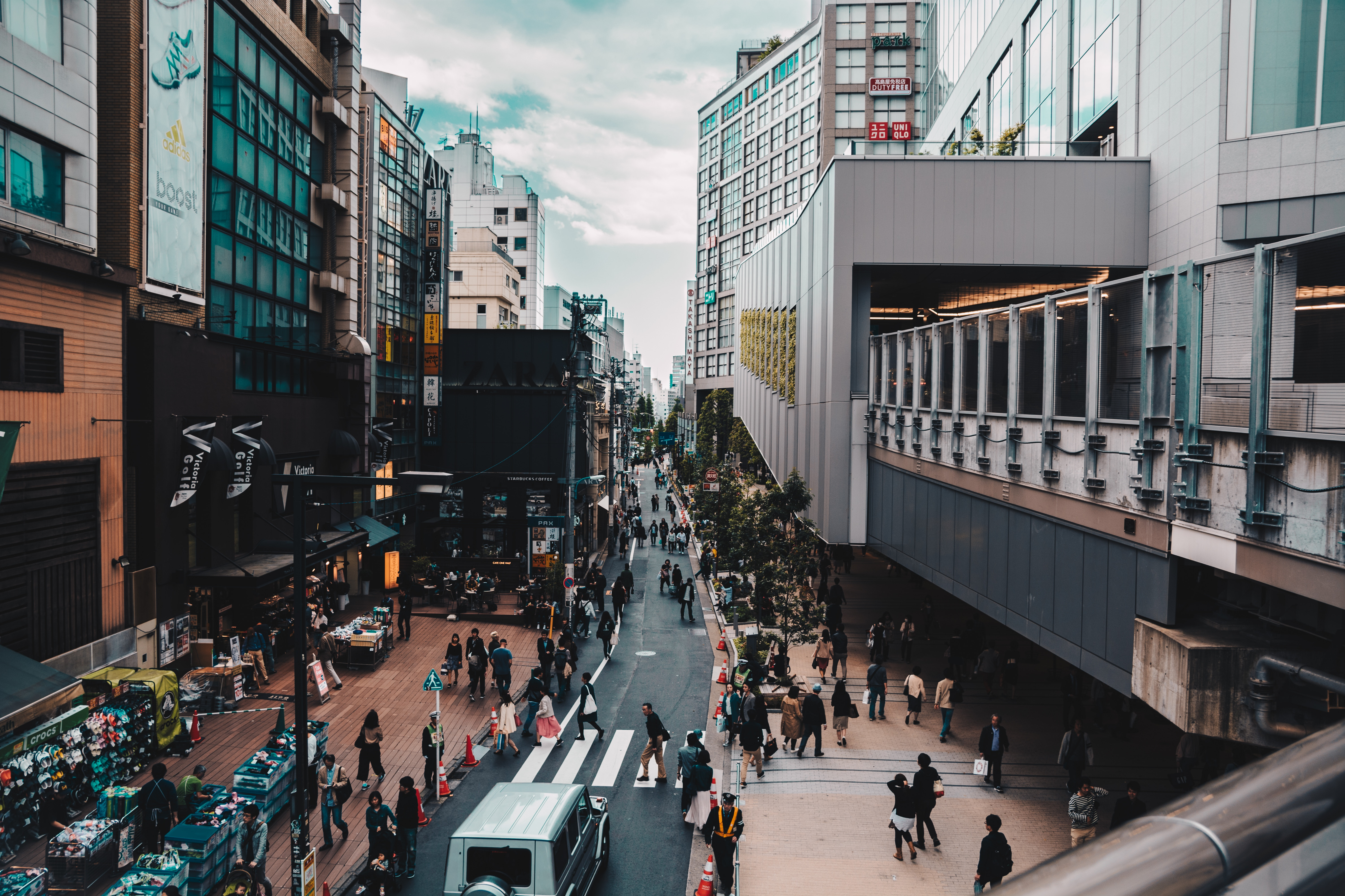 Streetscape in Tokyo. Image: Chris Chan/Unsplash