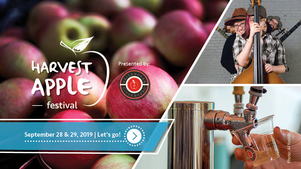 Harvest Apple Festival Custom Banner