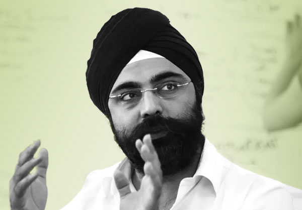Indy Johar headshot.