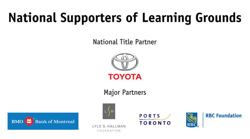 National Supporters of Learning Grounds