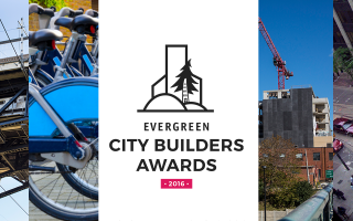 Evergreen City Builder Awards Winners.