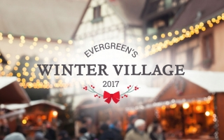 Evergreen's Winter Village