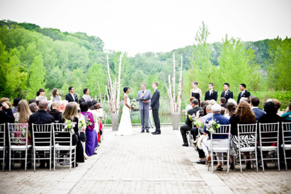The venues and open parklands provide a beautiful space for weddings and wedding pictures.