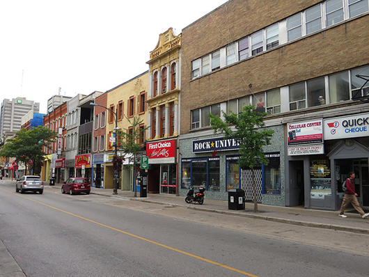 Dundas Street in London, Ont.