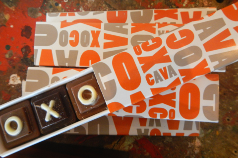 Xoco Cava chocolates at EGM. Photo: Nicole Czorny.