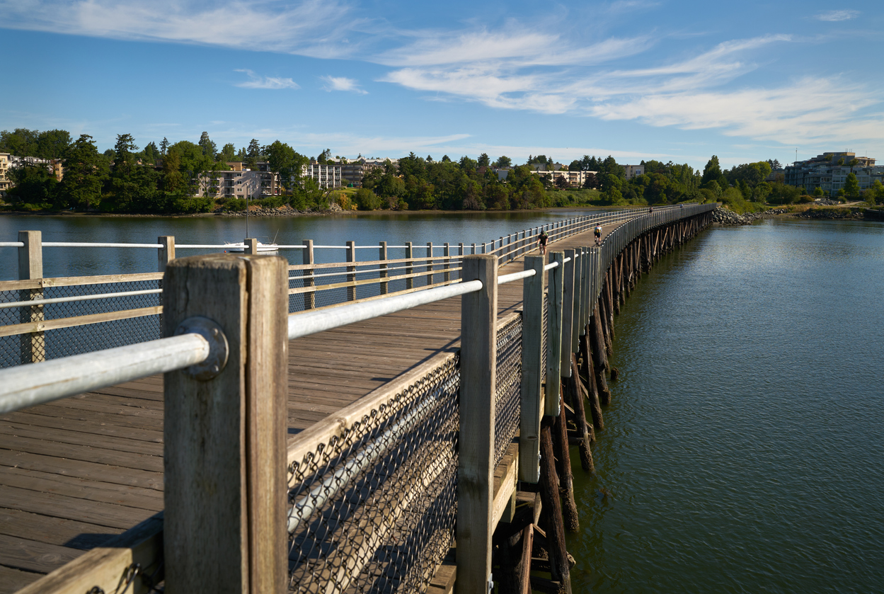 Victoria, BC's Galloping Goose Trail
