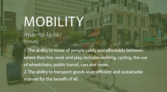 Mobility definition.