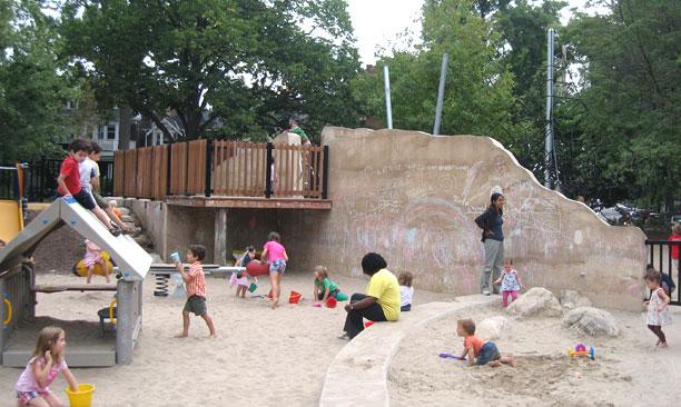 Jean Sibelius Square Park Playground