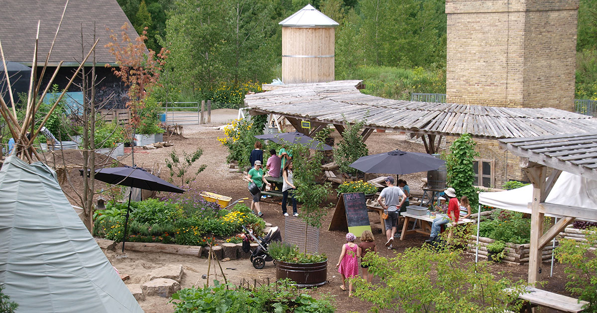 The Children's Garden at Evergreen Brick Works