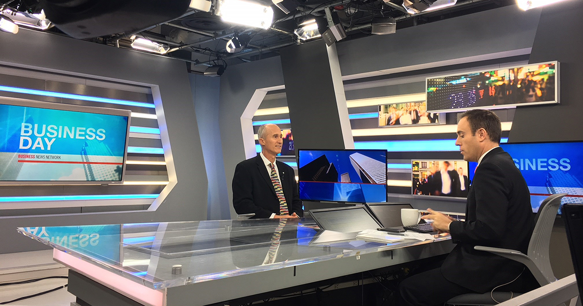 Evergreen CEO Geoff Cape at BNN.