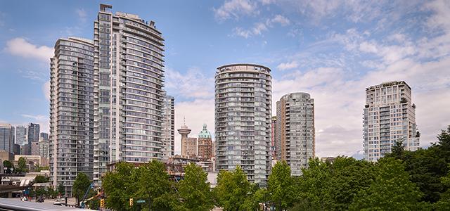 The Toronto skyline.