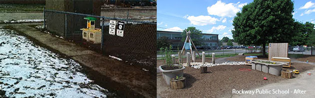 Rockway school's transformation of its kindergarten area
