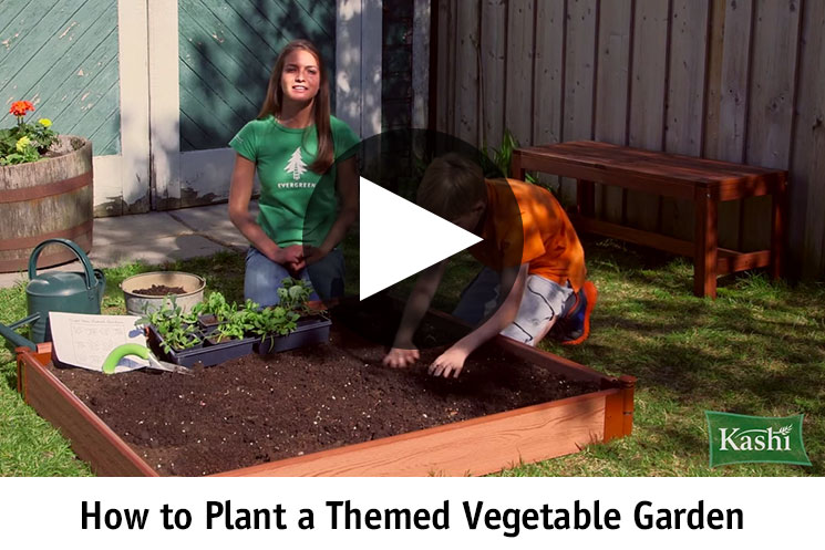 How to Plant Themed Vegetable Garden