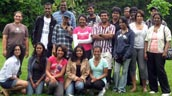 The 2010 Roots for Reconciliation Group. Photo: Evergreen.