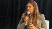 A panelist speaks during the 2011 Brick Works Forum. Photo: Mike Derblich.