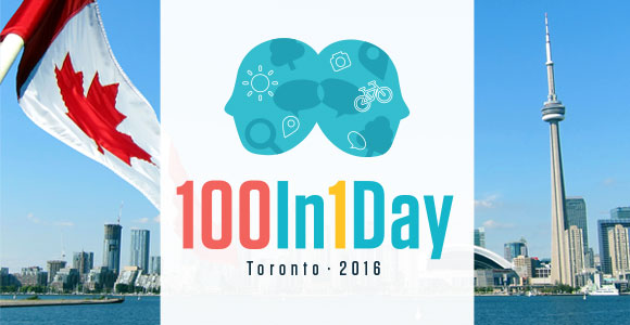 100In1Day Toronto 2016